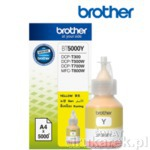 Brother BT5000Y Żółty Tusz do Brother DCP-T300 DCP-700W MFC-T800W